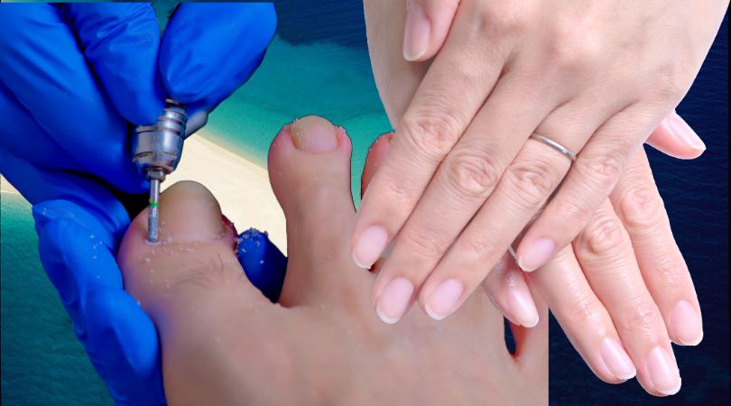 手と足の爪をケア